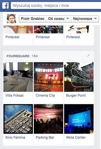 foursquare swarm facebook