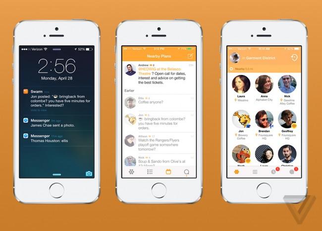 foursquare swarm screen