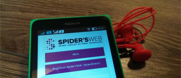 Nokia X, czyli udana hybryda Windows Phone'a z Androidem – recenzja Spider's Web
