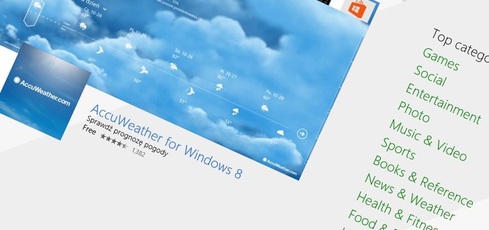 Może to niewielkie zmiany w sklepie Windows, ale bardzo potrzebne i mile widziane