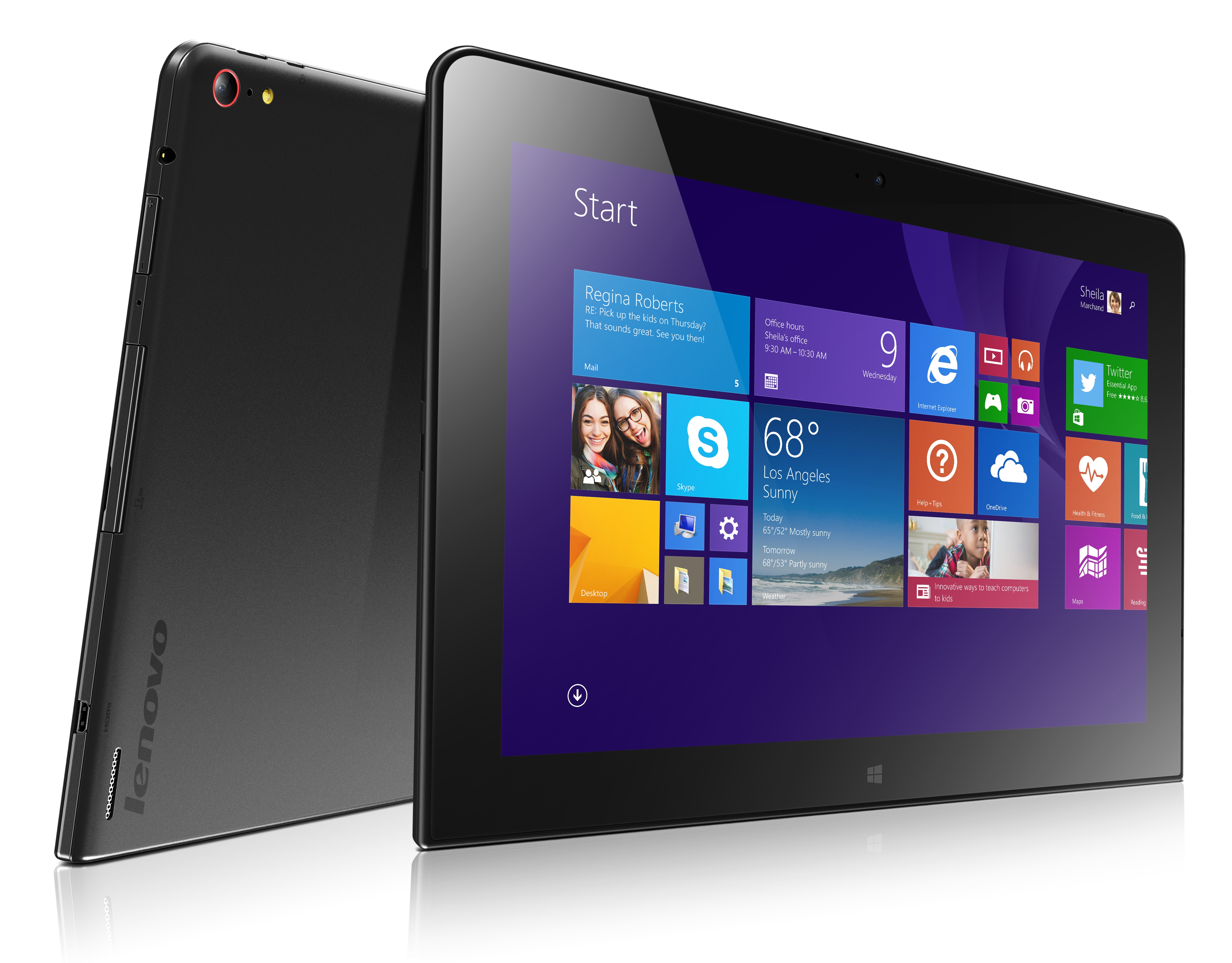 Nowy tablet ThinkPad 10 nareszcie z ekranem FullHD