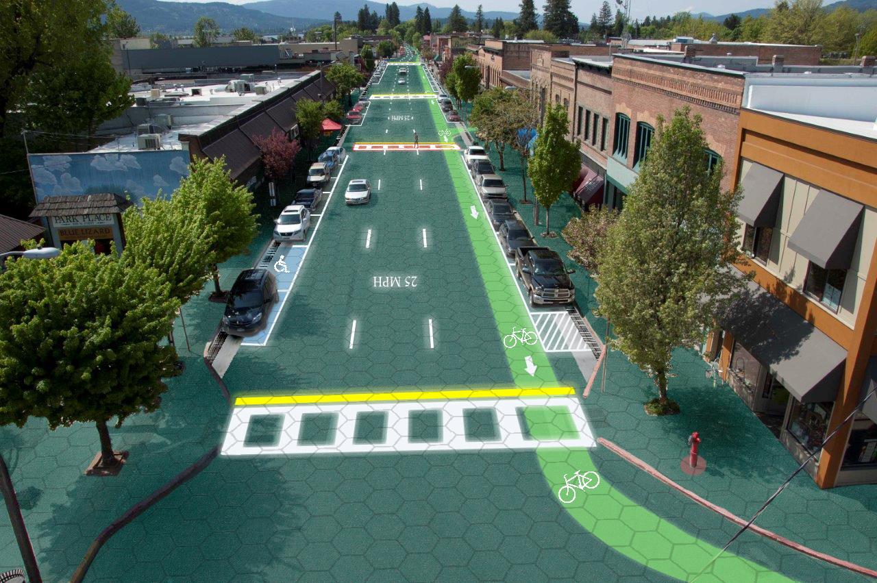 Brzmiało nierealnie, ale teraz panele fotowoltaiczne w drogach stają się faktem