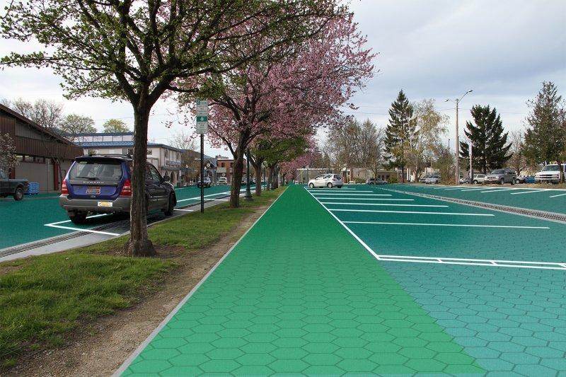 ulice z paneli słonecznych 4