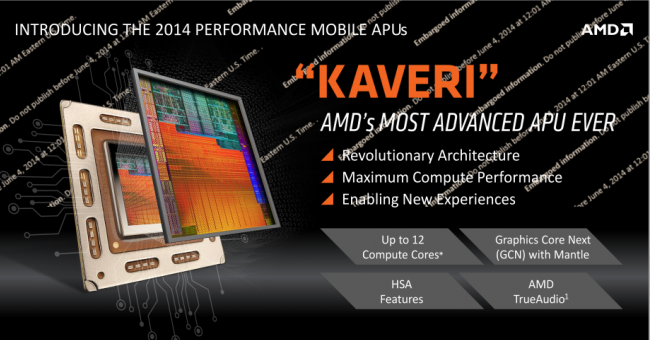 AMD Kaveri Mobile