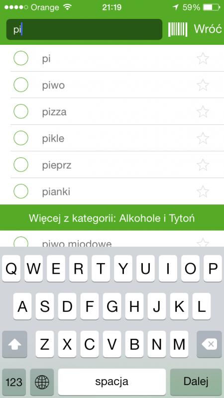 Listonic nowa aplikacja porady