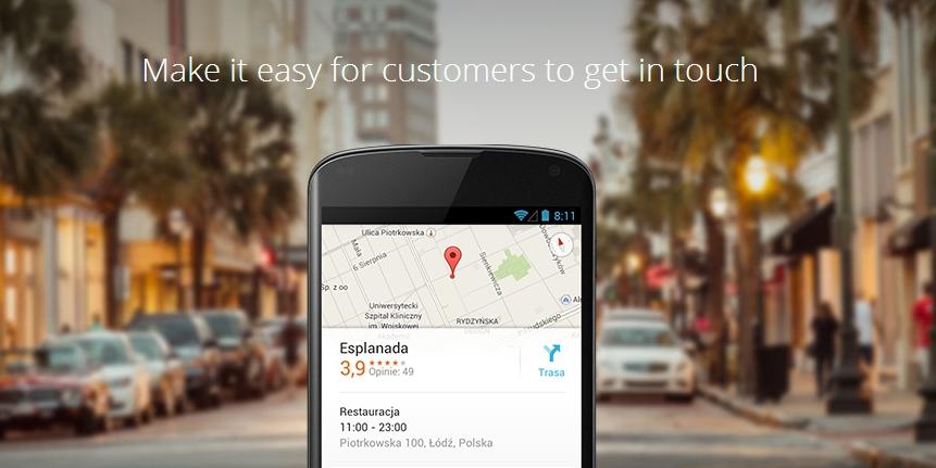 Wszystkie informacje o Twojej firmie w jednym miejscu – Google uruchamia Google My Business