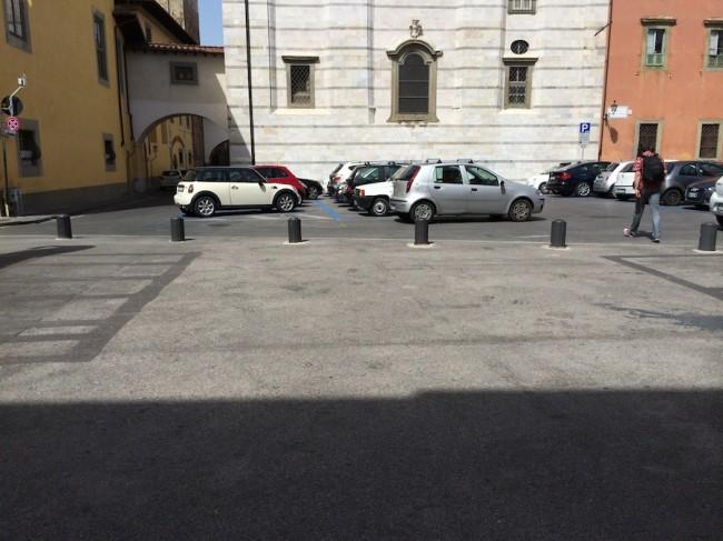inteligentny parkingu w Pizie 1