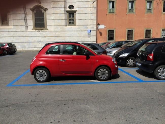 inteligentny parkingu w Pizie 10