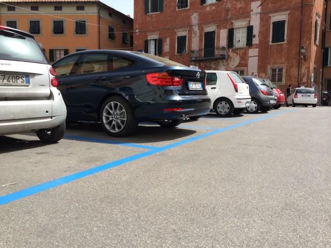 inteligentny parkingu w Pizie 16