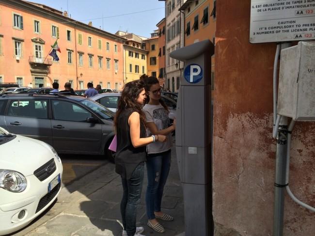 inteligentny parkingu w Pizie 9