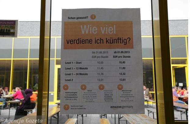 niemiecki amazon zarobki