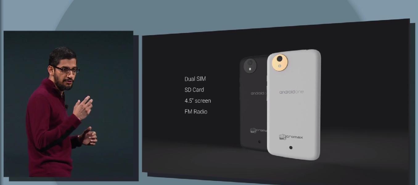 A więc tak ma się prezentować pierwszy Android One