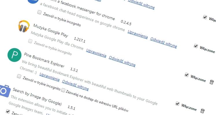 Sprawdź dokładnie co robią Twoje rozszerzenia w Chrome