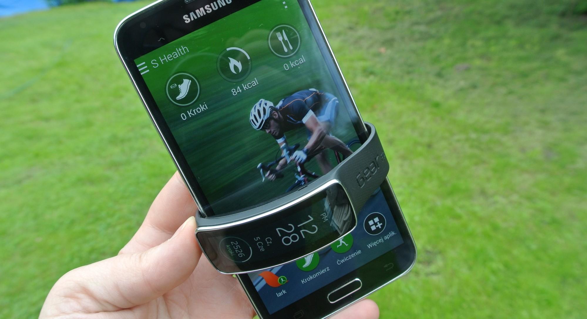 Trio Samsung Galaxy S 5, Gear 2 i Gear Fit – jest pomysł, wykonaniu trochę brakuje