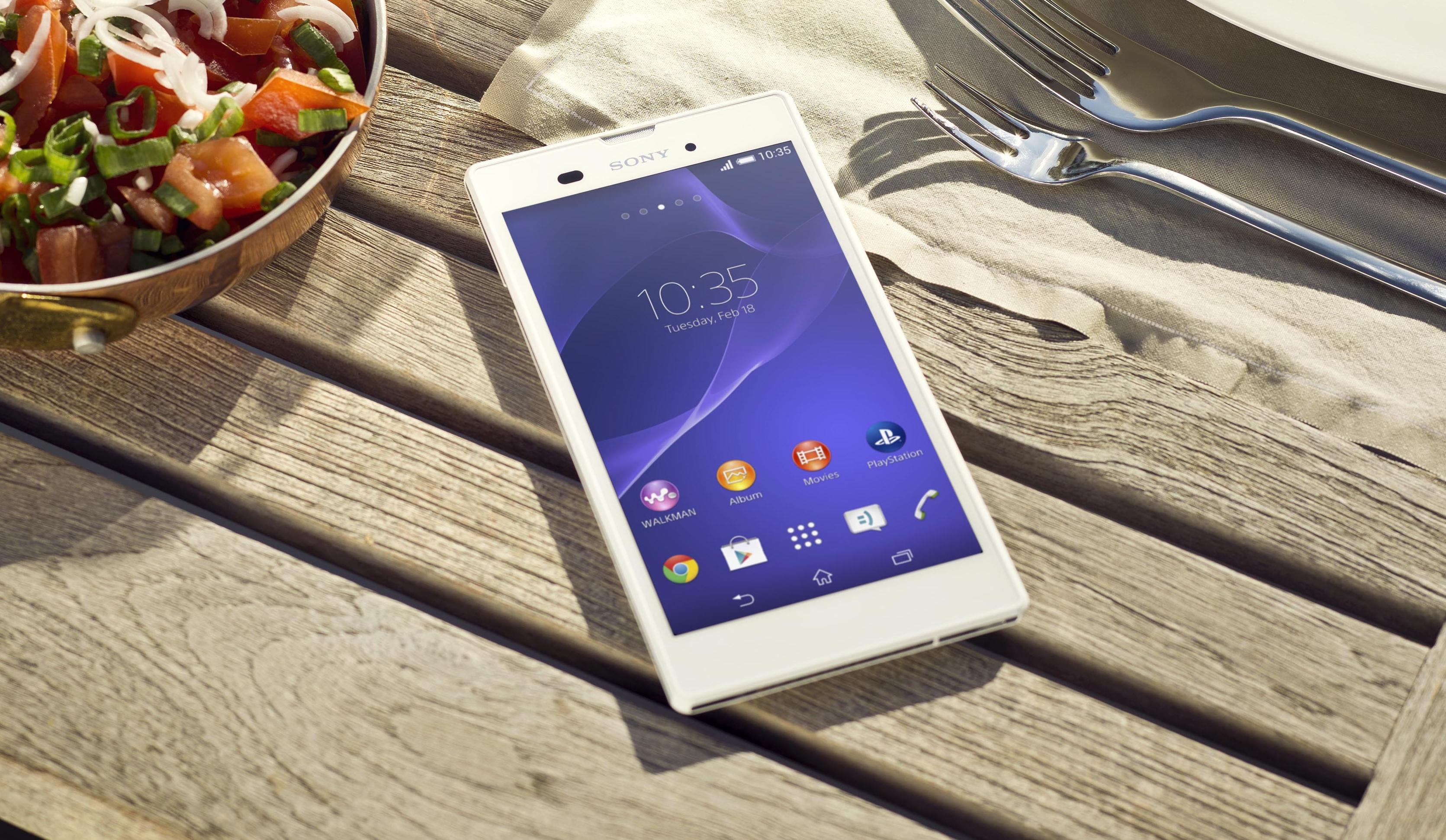 Smukły gigant od Sony – debiutuje Xperia T3
