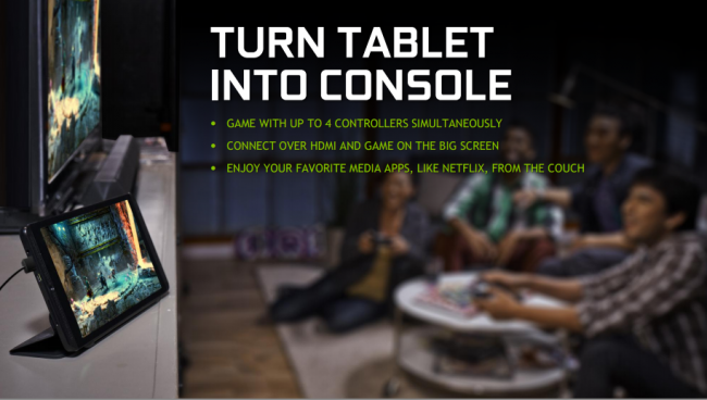 Nvidia Shield Tablet Konsola do gier