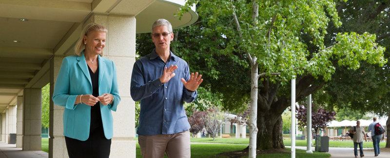 To nie byłoby do pomyślenia jeszcze kilka lat temu – Apple nawiązuje strategiczne porozumienie z… IBM