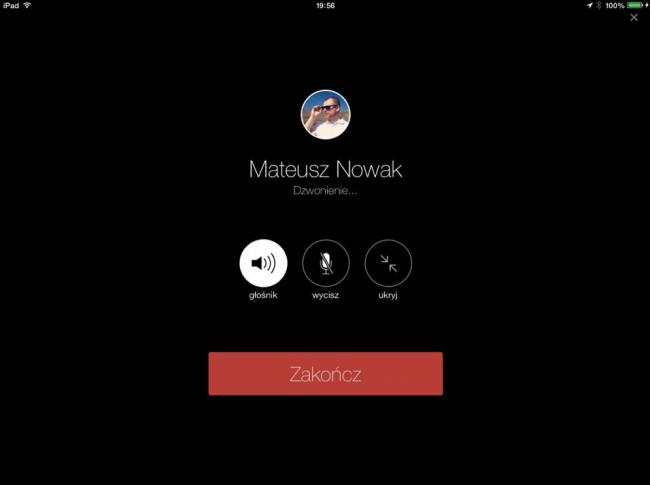 facebook ipad video call