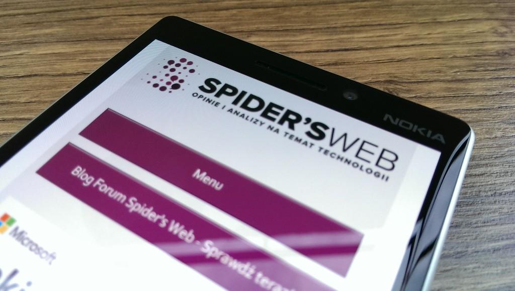 Nokia Lumia 930 to najlepszy Windows Phone na rynku – recenzja Spider's Web