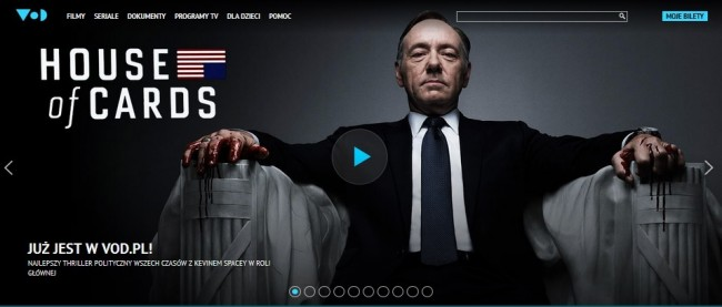 House of Cards w VoD