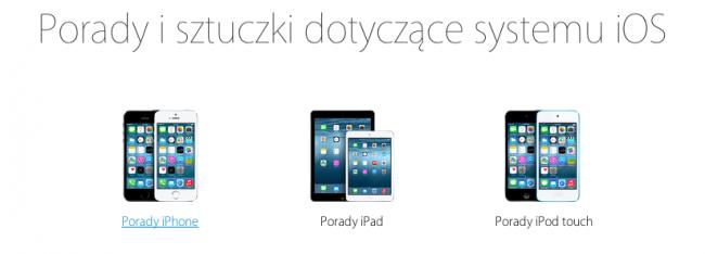 iOS 8 porady