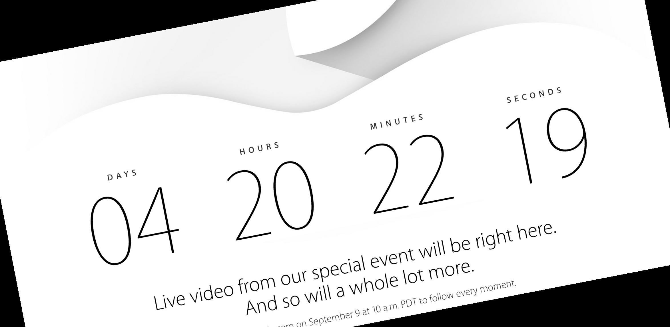 Apple próbuje odwrócić uwagę od targów IFA 2014 – odlicza do swojej konferencji i zapowiada wideo na żywo