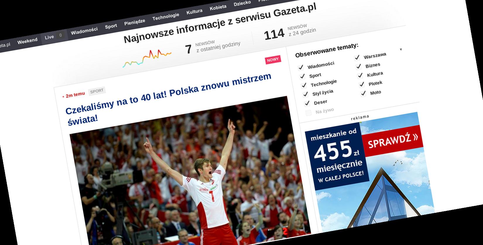 Gazeta.pl Live to najciekawszy portalowy projekt w Polsce od lat