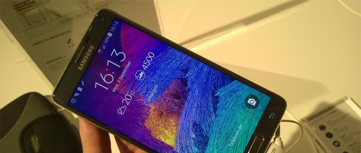 Samsung przyspiesza premierę Galaxy Note 4 przez Apple