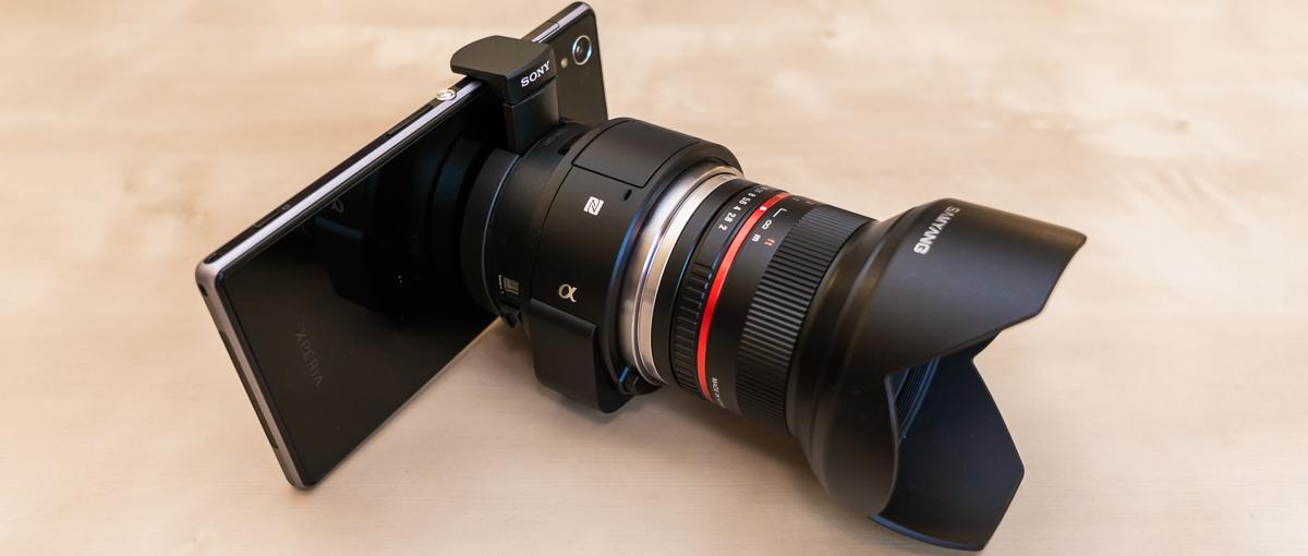 Porównujemy dwie generacje modułów foto od Sony. Zeszłoroczny QX10 i świeży QX1- galeria Spider's Web