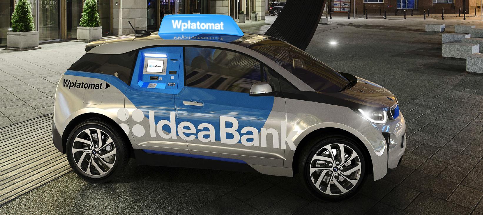 Prawdziwy mobilny bank przyjedzie do ciebie razem z bankomatem i wpłatomatem