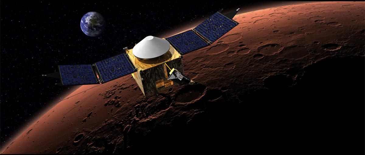 Sonda Maven zbada Marsa, aby ocalić… Ziemię