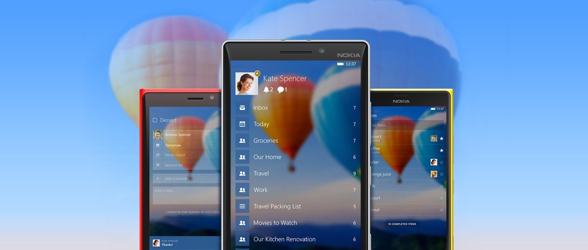 Testujemy Wunderlist – najlepszą aplikację do zarządzania pracą, która teraz dostępna jest również na Windows i Windows Phone