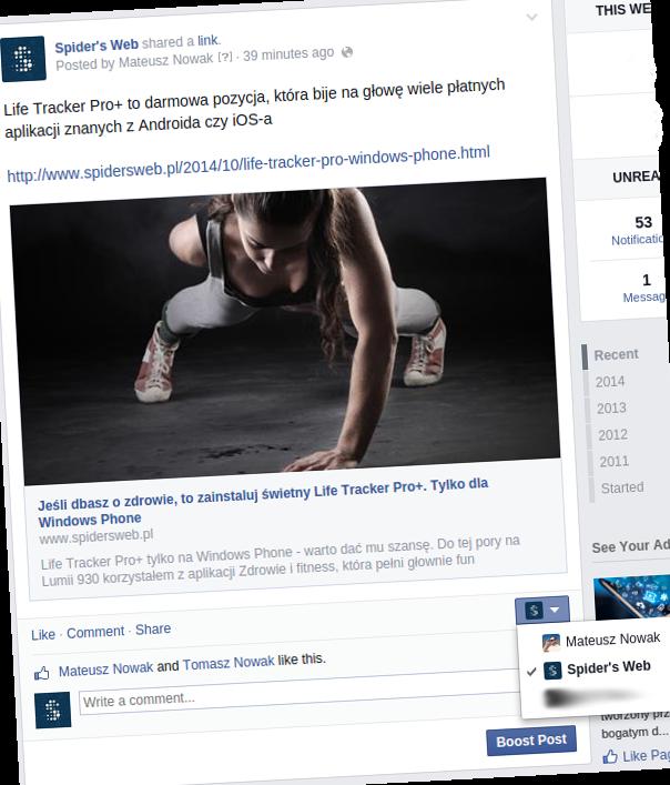 facebook fb spidersweb