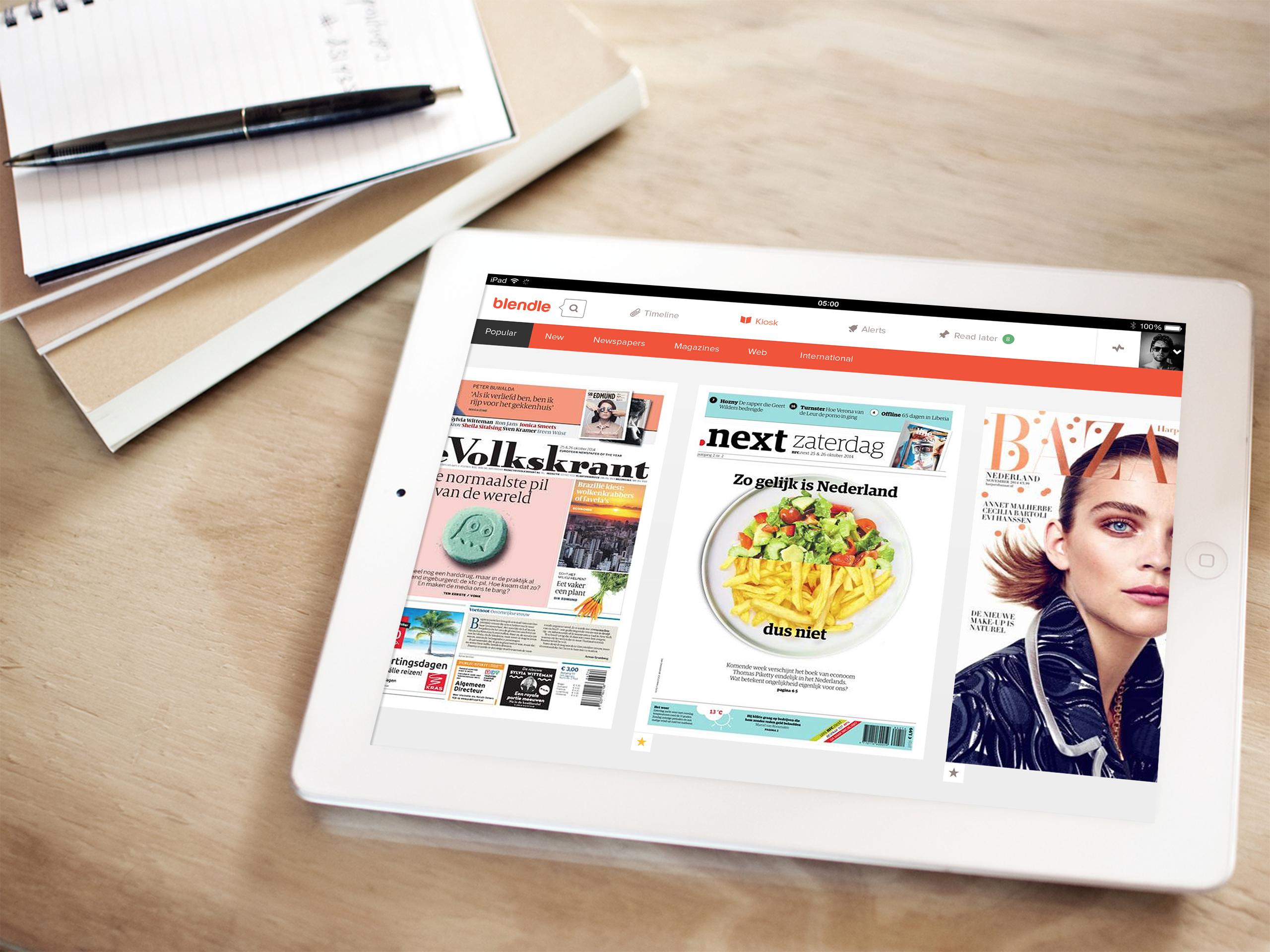 Holenderski iTunes dla prasy idzie w świat