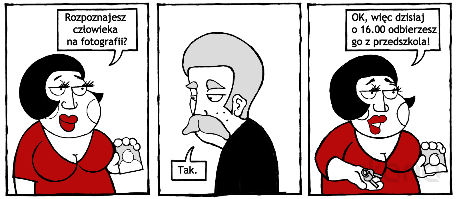 Komiks dnia #1- nie bójmy się śmiać z informatyków i osób mieszkających w internecie