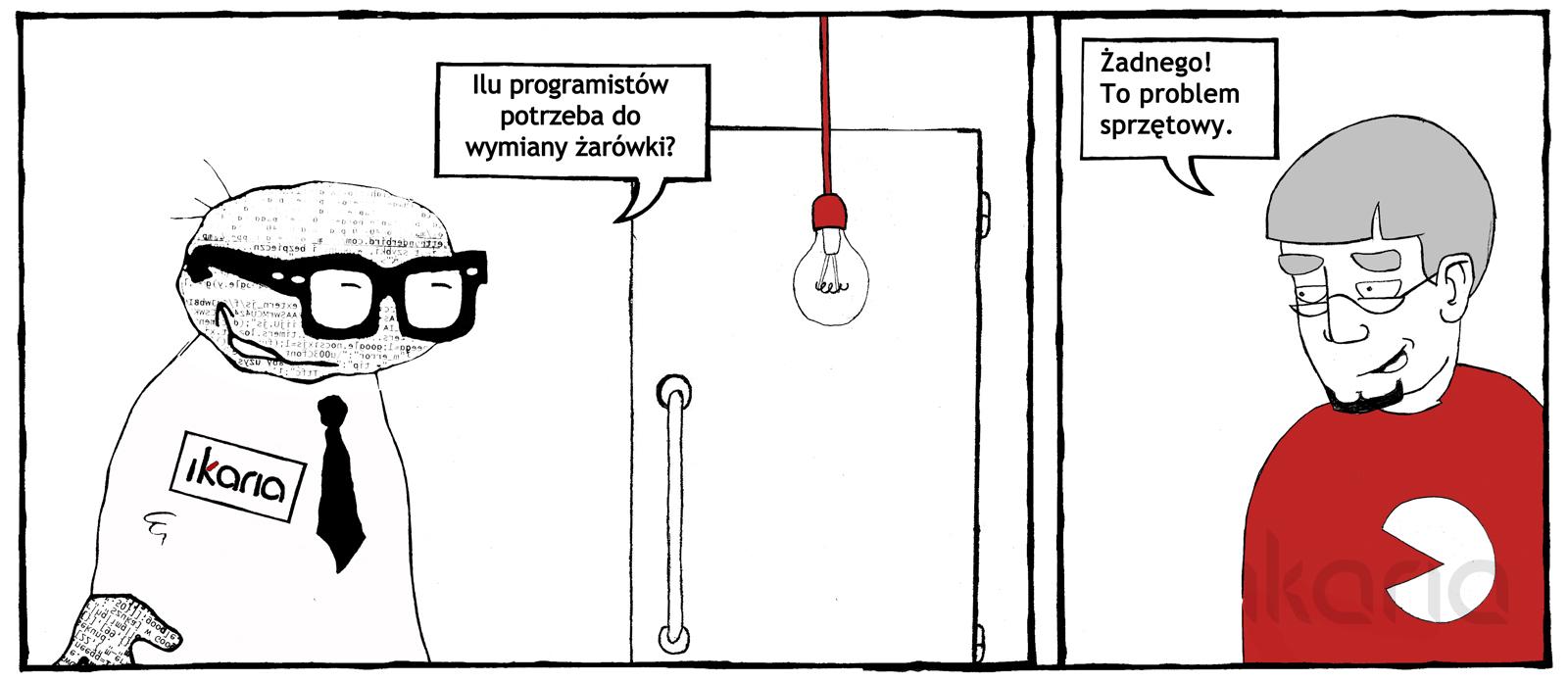 Komiks dnia #2 – nie bójmy się śmiać z informatyków i osób mieszkających w internecie