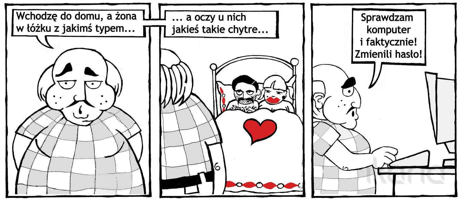 Komiks dnia #3 – nie bójmy się śmiać z informatyków i osób mieszkających w internecie