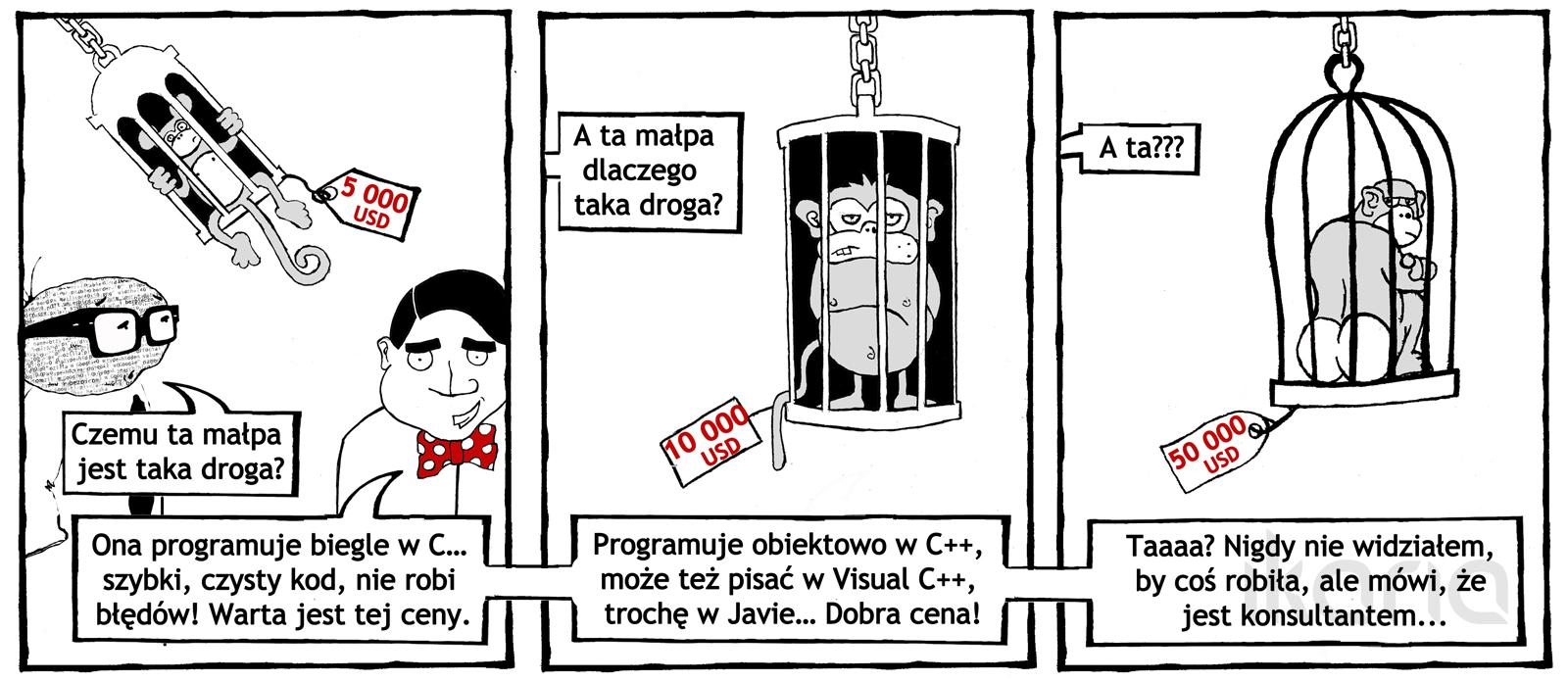 Komiks dnia #10: droga ta małpa…