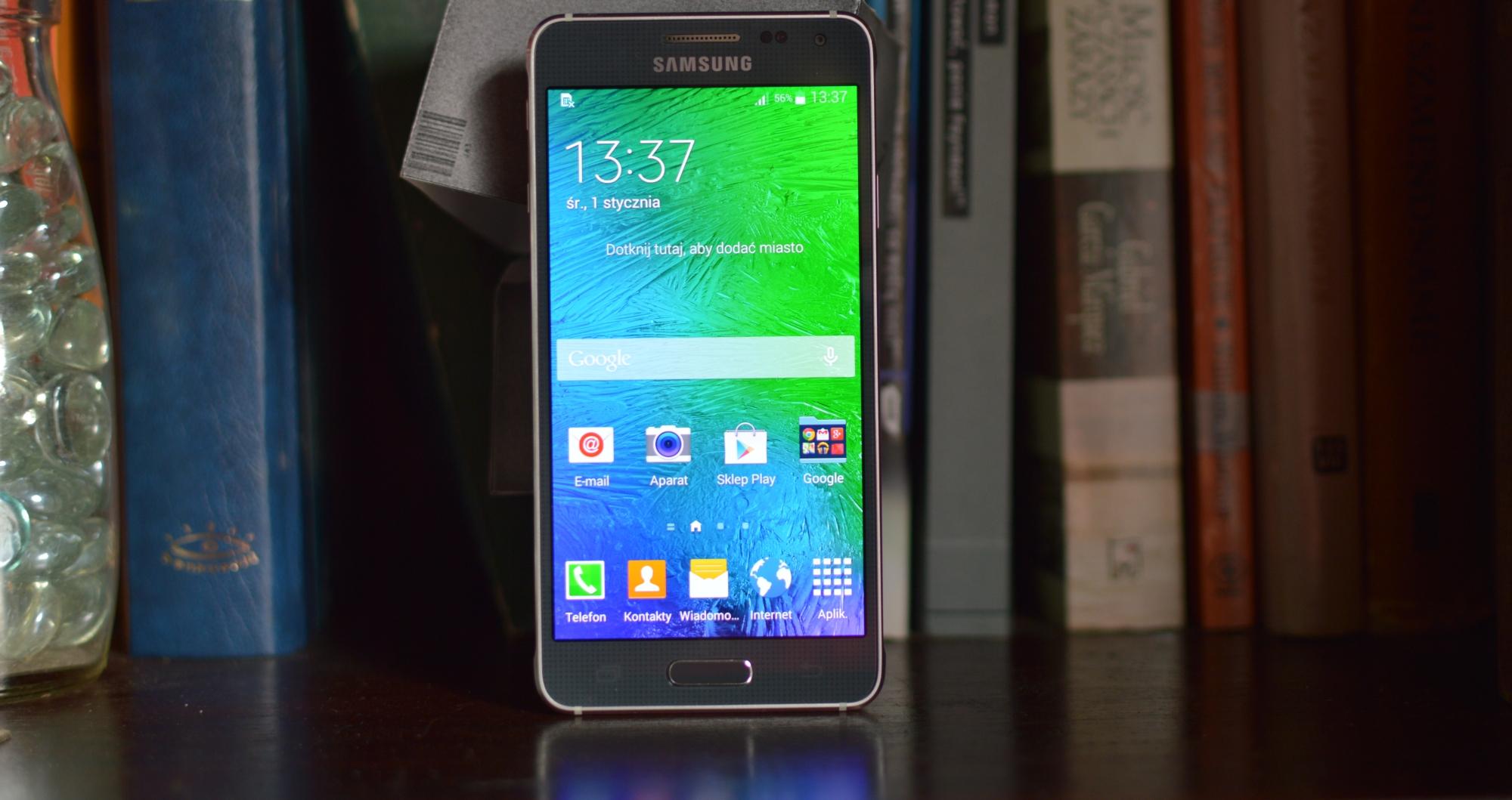Tak wygląda najpiękniejszy smartfon Samsunga. Galaxy Alpha – galeria Spider's Web