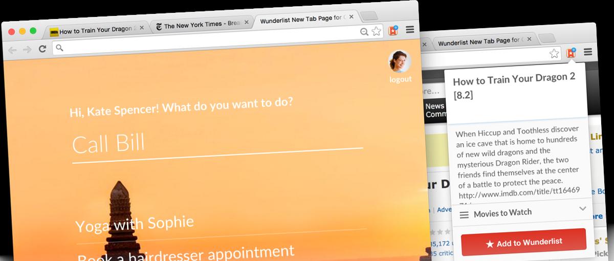 Ależ dobrze to zrobili – świetne i lekkie rozszerzenie dla Chrome od Wunderlist