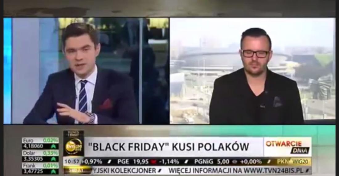 W TVN24 BiŚ o tym, czy i jak Polacy mogą korzystać z promocji Czarnego Piątku
