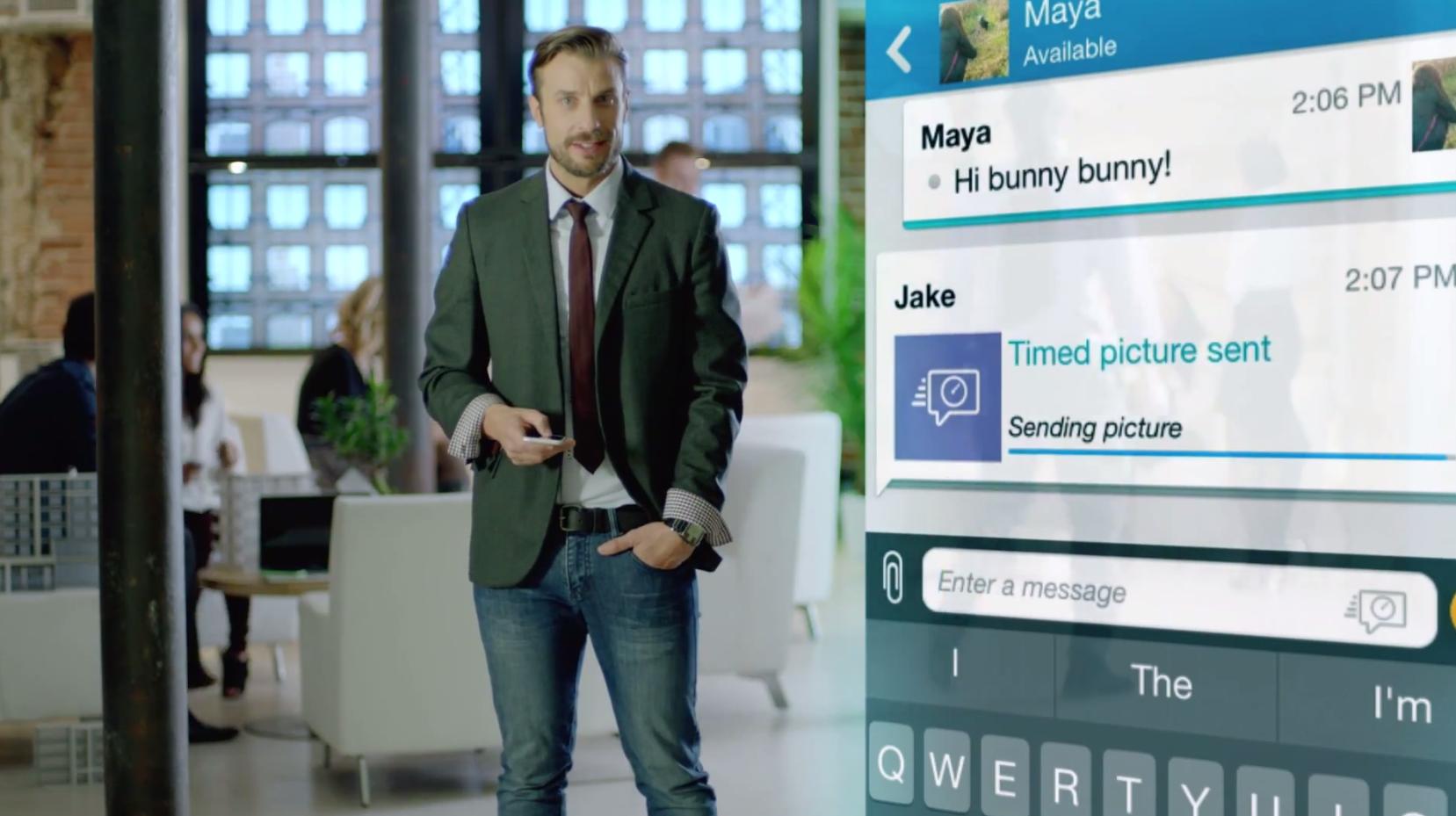 Sprawdź jak BlackBerry chce zagrozić Snapchatowi