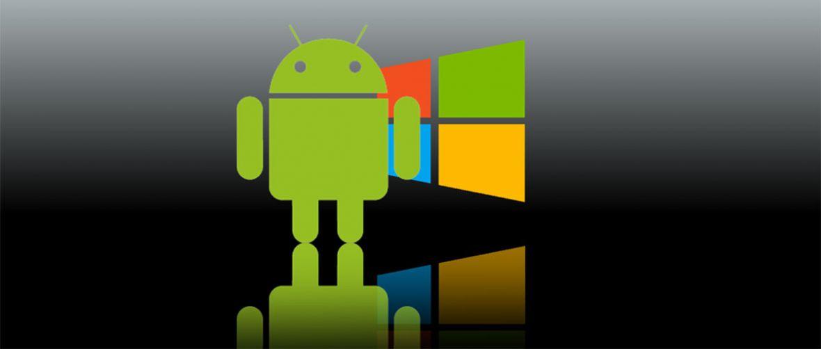 W walce Windowsa z Androidem wygra ten, który pierwszy upodobni się do drugiego