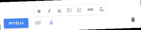 inbox formatowanie