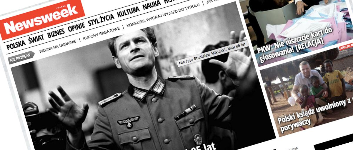 """Polski """"Newsweek"""" idzie w ślady """"Gazety Wyborczej"""" i wprowadza paywall"""