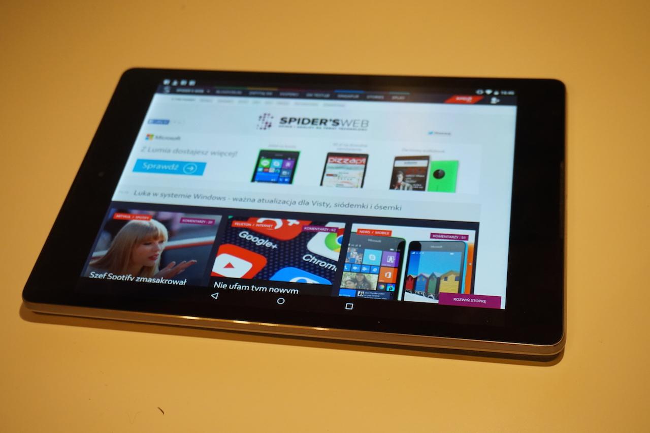 Android 5.0 Lollipop na Nexusie 9 – pierwsze wrażenia Spider's Web