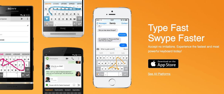 Swype – jedna z najlepszych klawiatur na iOS w końcu obsługuje język polski!