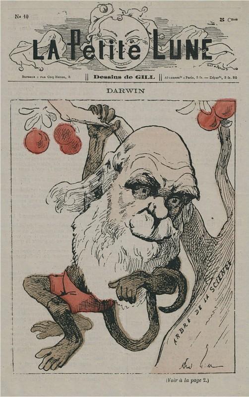 Darwin_as_monkey_on_La_Petite_Lune