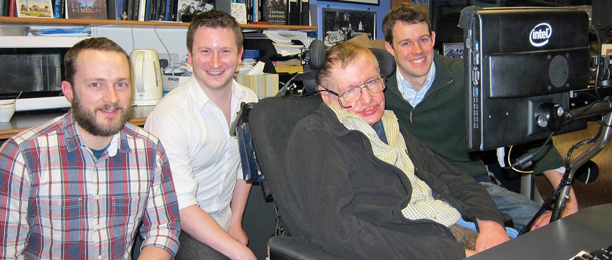 To jest PR-owy strzał w dziesiątkę – tak SwiftKey pomaga Stephenowi Hawkingowi