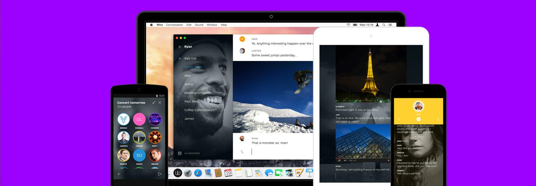 Twórca Skype'a rusza z nowym komunikatorem. Wire ma wszystko czego potrzeba i wygląda przy tym obłędnie